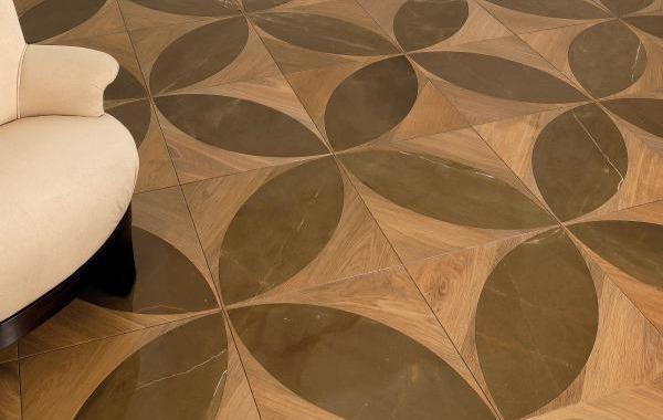 lemma parquet intarsiato legno marmo