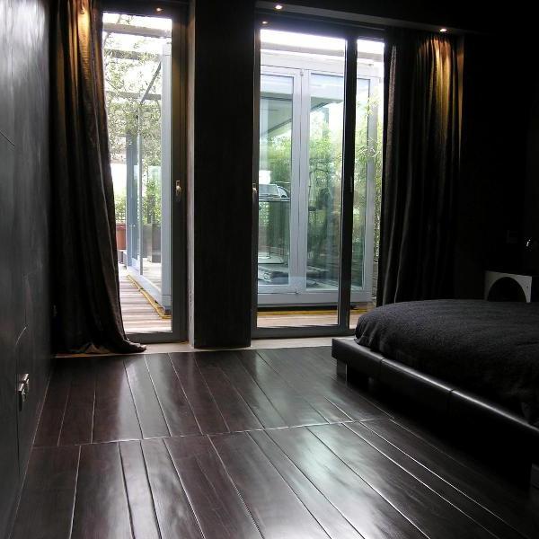 Oak trapezoidal planks
